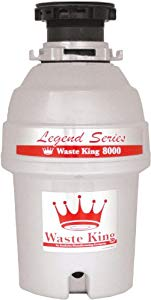 Waste King L-8000 Legend Series 1.0-Horsepower Continuous-Feed Garbage Disposal by Waste King